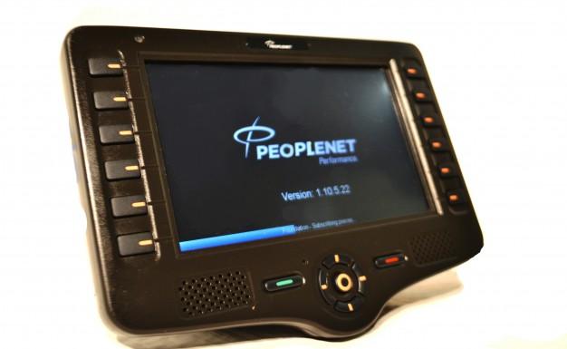 peoplenet blu2 blu display used upgrade screen touch equipment navigation